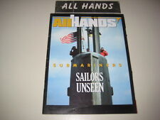 Antisubmarine Warfare, Submarines, Deep Sea Dives Articles: All Hands Magazines