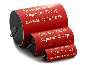1 pair (2pcs) of Jantzen Superior Z-Cap MKP Capacitors 2% 800-1200V (all values)