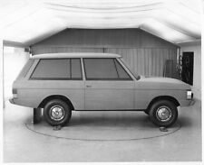 Range Rover mock up press print