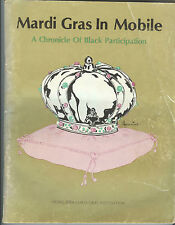 1980 history of Black African-American MARDI GRAS in Mobile, Alabama illustrated