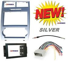 SILVER 05 06 07 MAGNUM CHARGER Radio Stereo Car Installation DOUBLE DIN DASH KIT