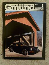 "1980 Gmund ""Gmünd"" Porsche Magazine, No 3, 3rd Issue VERY RARE Long Out Of Print"