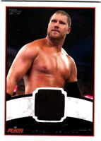 WWE Michael McGillicutty 2012 Topps Authentic Event Worn Shirt Relic Card Black