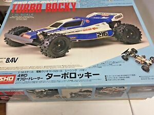 Kyosho Turbo Rocky #3103 Project NEW Genuine OEM NOS Rare w/Motor No Issues VTG