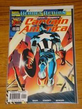 CAPTAIN AMERICA #1 VOL3 MARVEL COMICS JANUARY 1998