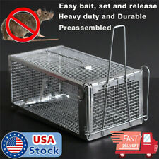 Large Live Humane Cage Trap for Squirrel Chipmunk Rat Mice Rodent Catcher Usa
