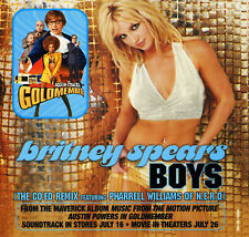 Britney Spears BOYS / Austin Powers Goldmember Sndtrk (Promo CD) (2002) RARE