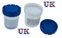 50ml Plastic Specimen Sample Jar / Craft Container / Pot / Cup with Lid x 1 pcs