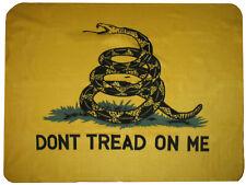 "Gadsden Culpeper Tea Party ""Don't Tread on me"" 50x60 Polar Fleece Blanket Throw"