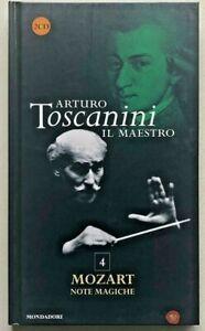Arturo Toscanini Il maestro Mozart Note magiche CD da collezione n. 4 Mondadori