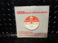 """BBC Sound Effects 7"""" 33rpm EC63A Applause. Record"""