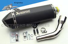 AKRAPOVIC SCARICO SPORTIVO MARMITTA SILENCER VESPA GTS 125 250 300 GTV m45 05-16 NEW