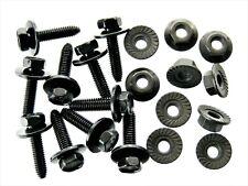 Body Bolts & Flange Nuts- M6-1.0 x 25mm Long- 10mm Hex- 20 pcs (10ea)- LD#123