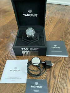 TAG HEUER CONNECTED MODULAR BLACK RUBBER WITH BLACK MAT CERAMIC BEZEL