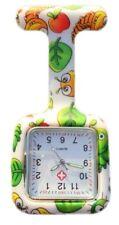 Boolavard® TM Nurses Fashion Coloured Patterned Silicone Rubber Fob Watches