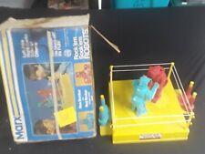 Rare original 60s Tested MARX Rock'em Sock'em Robot Box vtg gift 5015 toy boxing