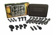 Shure PGADRUMKIT7 7-Piece Drum Microphone Kit.  U.S. Authorized Dealer