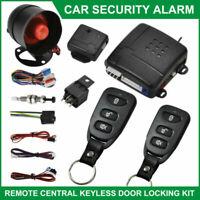 Voiture Système d'alarme Télécommande de verrouillage central Kit+2 Fobs Keys
