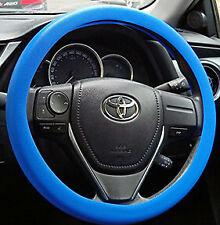 Dark Blue Silicone Resistance Car Steering Wheel Cover Fits diameter 34cm-38cm