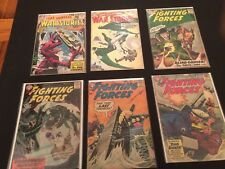 17 10 cent DC War Comics Star Spangled War Stories Our Army at War Fighting Frcs