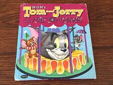 M-G-M's Tom and Jerry and The Toy Circus Book Whitman 1953 Tell-a-Tales