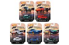 Hot Wheels 1:64 Retro Entertainment 2018 Assortment J Forza Set of 5 DMC55-956J