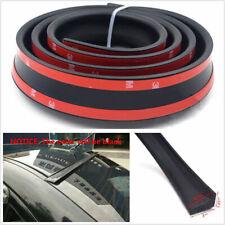 1x 135cm Universal Black Lip Rubber Car Rear Trunk Roof Boot Spoiler Wing Trim