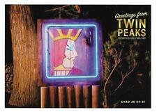 TWIN PEAKS GOLD BOX POSTCARD #26 ONE EYED JACKS POST CARD