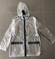 New Transparent Clear Rainmac New Look Raincoat UK 14-15 Yrs 164-170 Raincoat