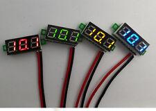 """0.28"""" DC Digital Voltmeter Panel Mount LED Voltage Volt meter Green 2.50~30V"""