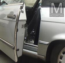 Mercedes sl SLC 107 w107 cromo-bordes türkantenschutz acero inoxidable türschoner nuevo
