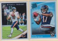 2018 PANINI DONRUSS OPTIC  Mitchell Trubisky  Anthony Miller   Chicago Bears