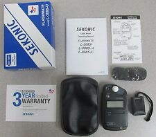 Sekonic Flashmate L-308S-U Flash mate Light Meter - 3 Years USA Warranty 401-307