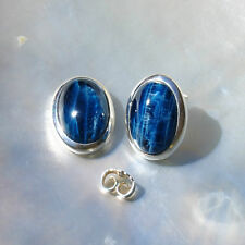Apatit Ohrring, 925er Silber, Edelstein Ohrring (635), Edelsteinschmuck