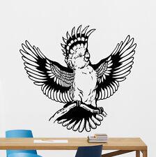 Parrot Bird Wall Decal Nursery Poster Vinyl Sticker Kids Art Decor Mural 20aaa