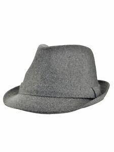 NEW! D&Y Men's Wool Blend Classic Fedora Trilby Hat Cap