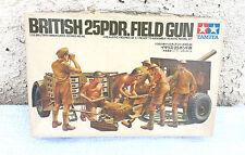 BRITISH  25 PDR. FIELD  GUN  MODEL  KIT TAMIYA  SCALE 1/35