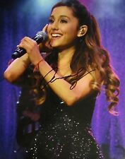 ARIANA GRANDE AUTOGRAPHED HAND SIGNED LARGE 11X14 PHOTO w/COA
