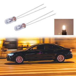 50x Miniature 3/4/5mm 6/12/24V Lamp Light Bulb Edison Incandescent Filament Rice