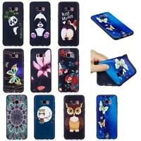 PU Leather Painted Flip Stand Wallet Case Cover For iPhone 6 7 8 X Plus Cute XX