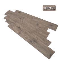 Adhesive Floor Tiles Vinyl Floor Planks 2.0mm Thick 16 PCS/24 Square Feet.