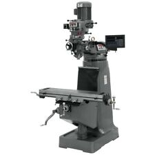 Jet 691182 Jtm 2 Mill With 3 Axis Newall Dp700 Dro Knee