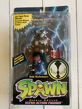 """SPAWN DELUXE EDITION PILOT SPAWN 6"""" ACTION FIGURE (McFarlane Toys, 1995) NEW"""