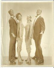 Black Jazz Dance Team Original 8� X10� 1940's Kreigsmann Photograph