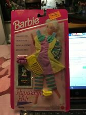 1993 Barbie Happening Hair Fashions with LA Looks Styling Gel NRFC
