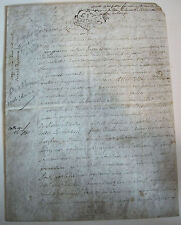DOCUMENT ANCIEN  1753