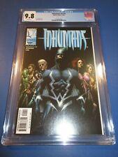 Uncanny Inhumans #15 signed Jeff Dekal BLACK BOLT COVER NM