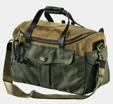 Filson 70073 Heritage Sportsman Bag(Twill & Tin, Weather Resistant Mulit Use)