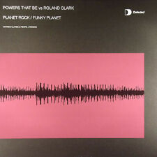 """Powers That Be Vs. Roland Clark - Planet Rock / Funky Planet (12"""")"""