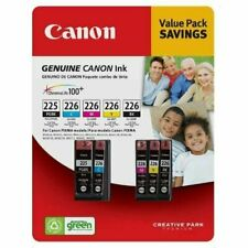 Canon ink refill 5 Cartridges 225 226 Value Pack ChromaLife 100+